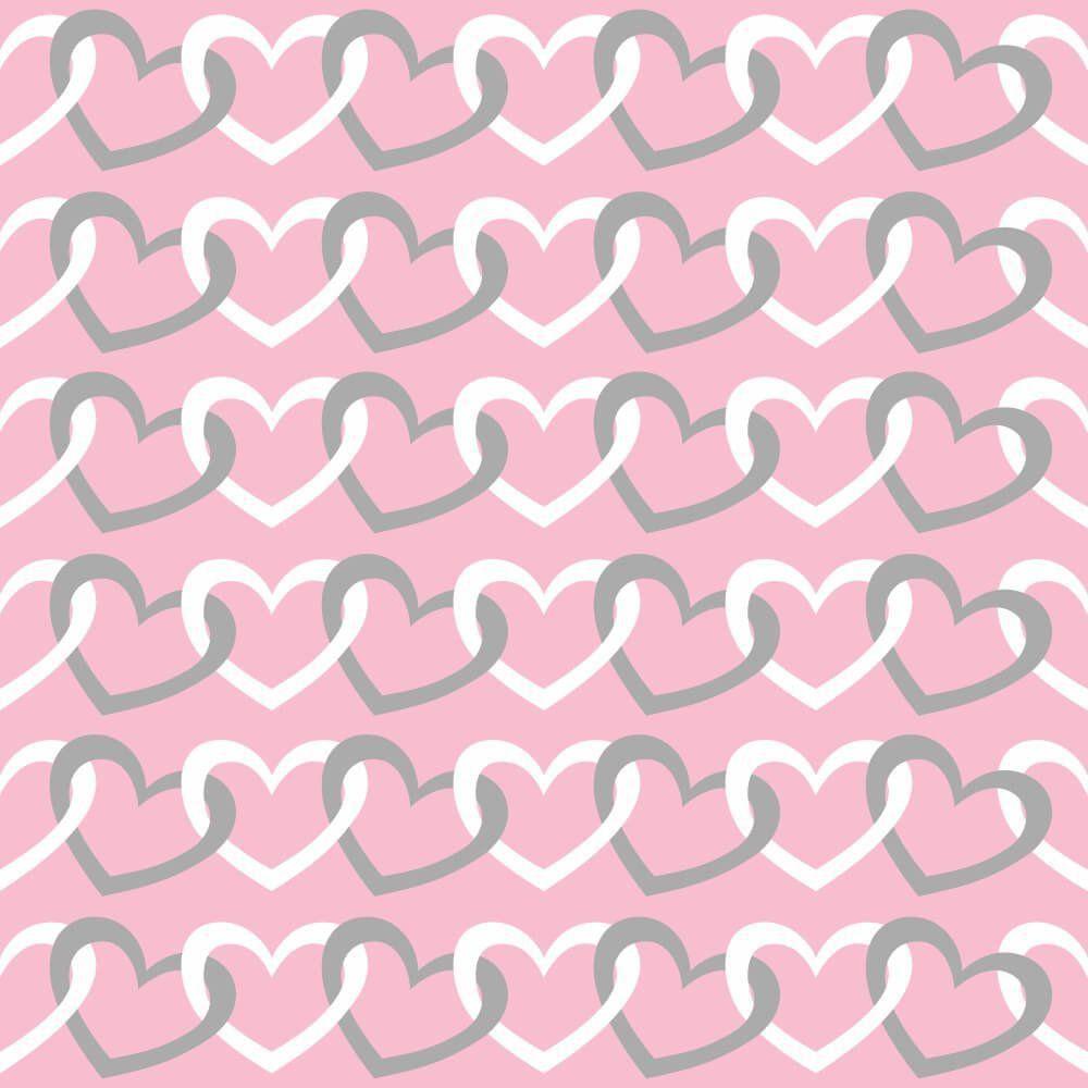Papel de Parede Cadeado de Coração Girl