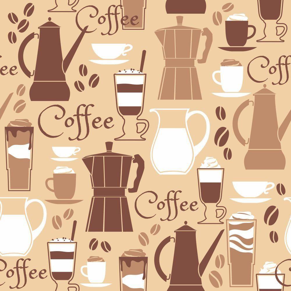 Papel de Parede Coffee