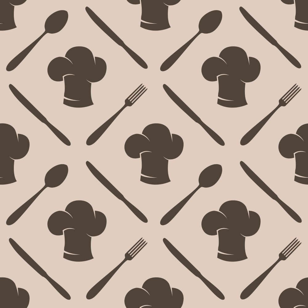 Papel de Parede Cooking Brown