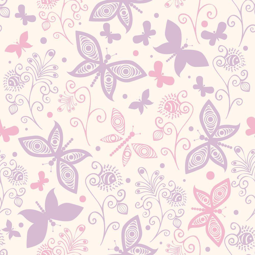 Papel de Parede Fantastic Butterflies