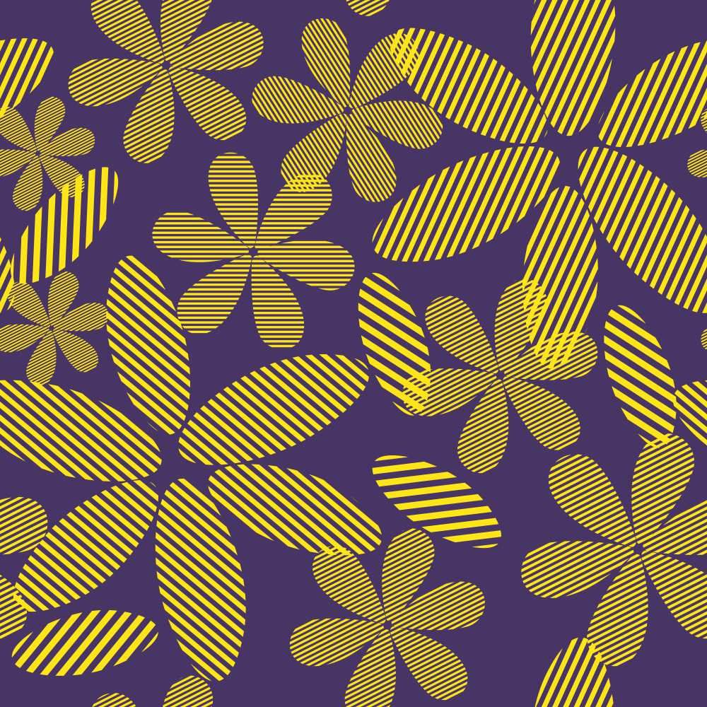 Papel de Parede Flowers Cut
