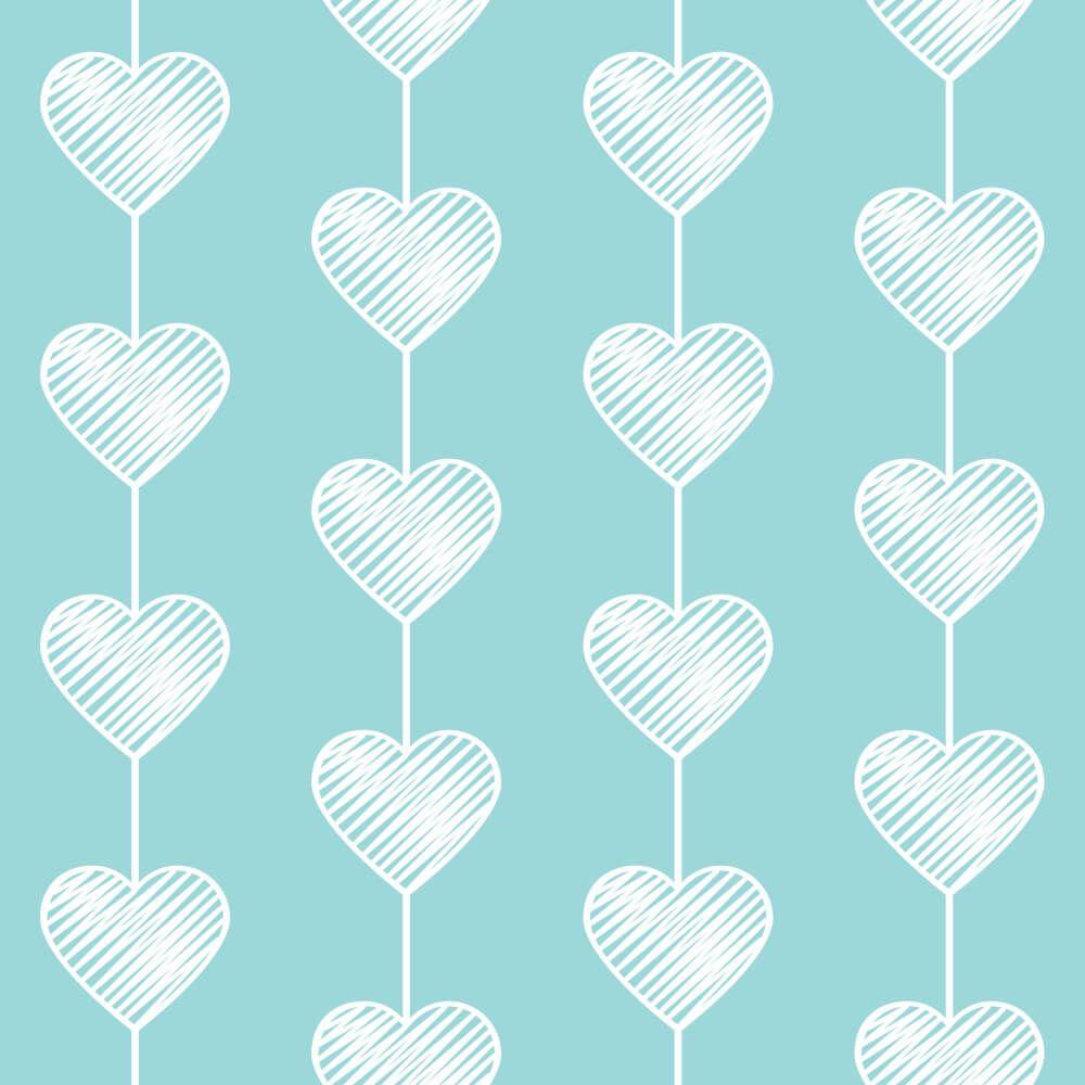 Papel de Parede Heart Curtain Soft