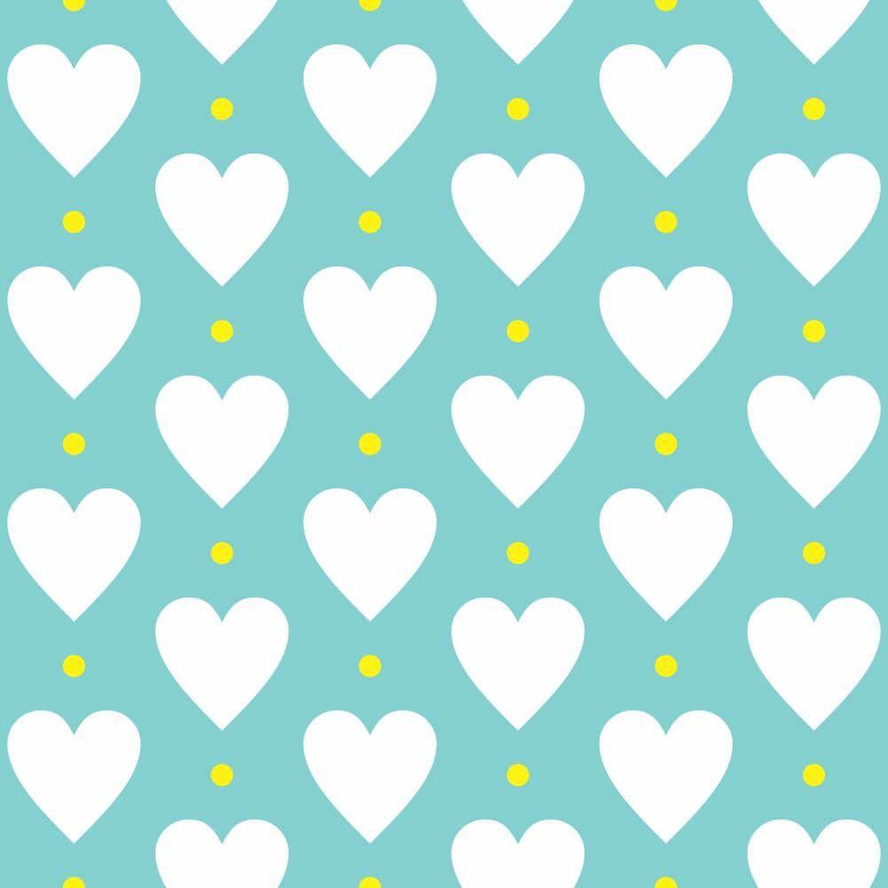 Papel de Parede Heart Point Soft