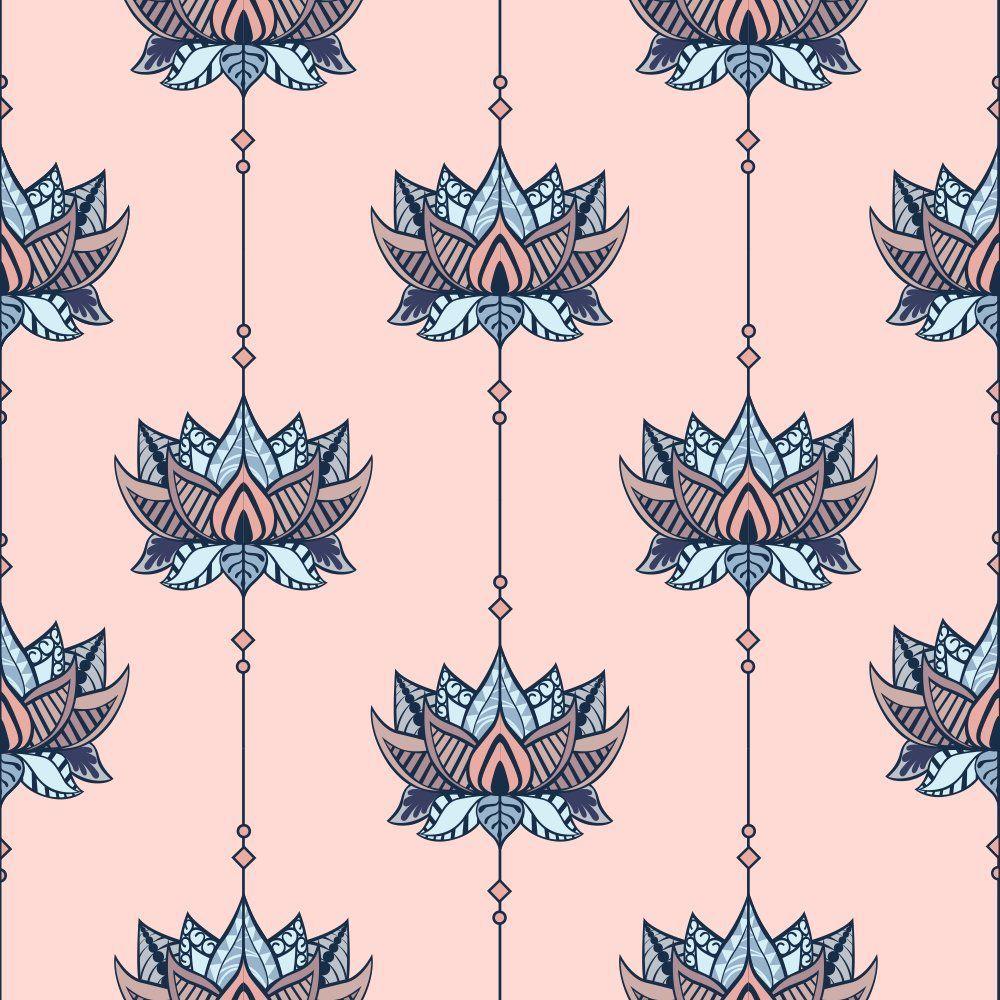 Papel de Parede Lotus Abstract