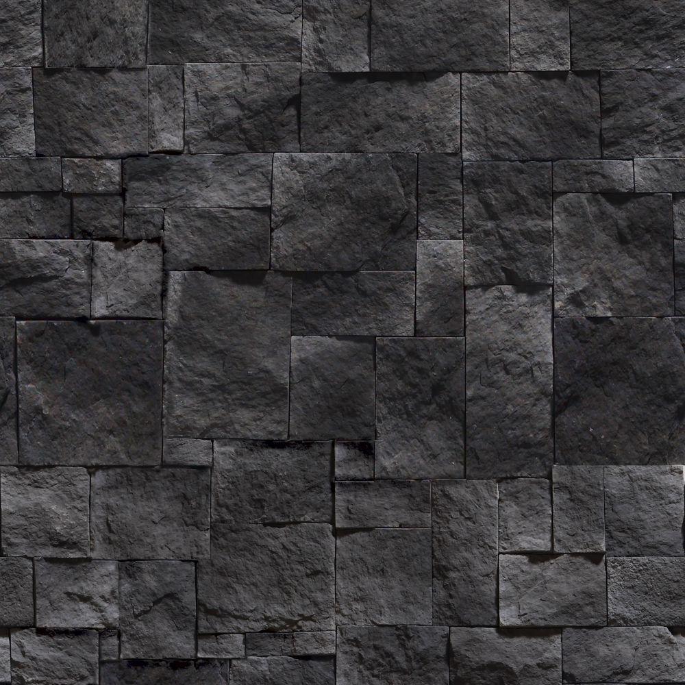 Papel de Parede Pedras Escuras