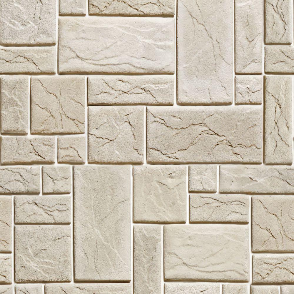 Papel de Parede Pedras fundo branco 5