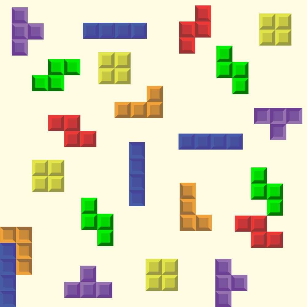 Papel de Parede Tetris
