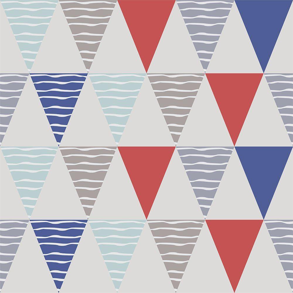 Papel de Parede Triângulos Lines
