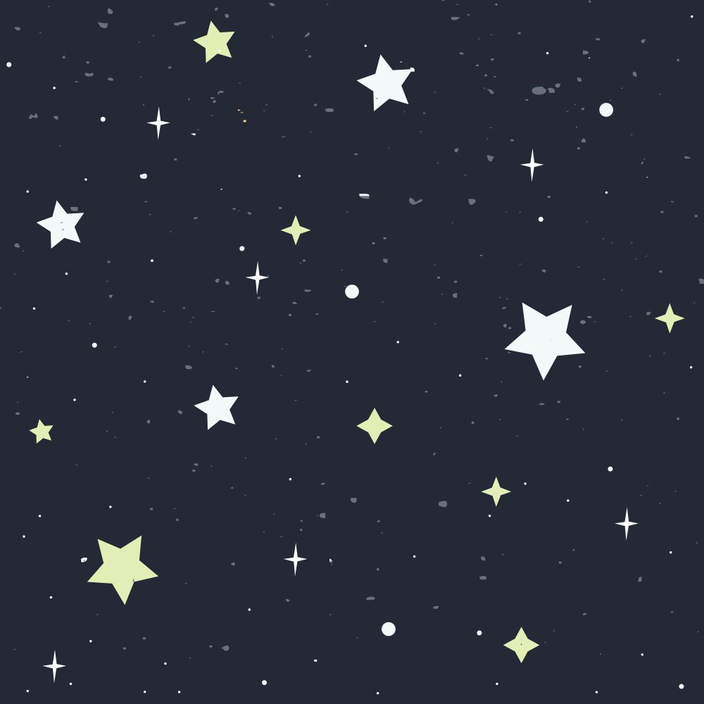Papel De Parede Universo Estrelado