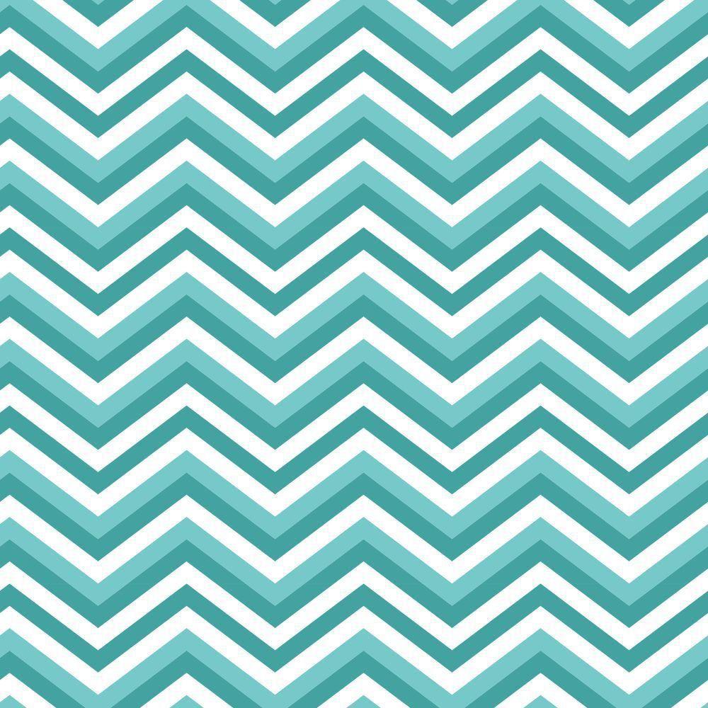 Papel de Parede Zig Zag Tons de Azul