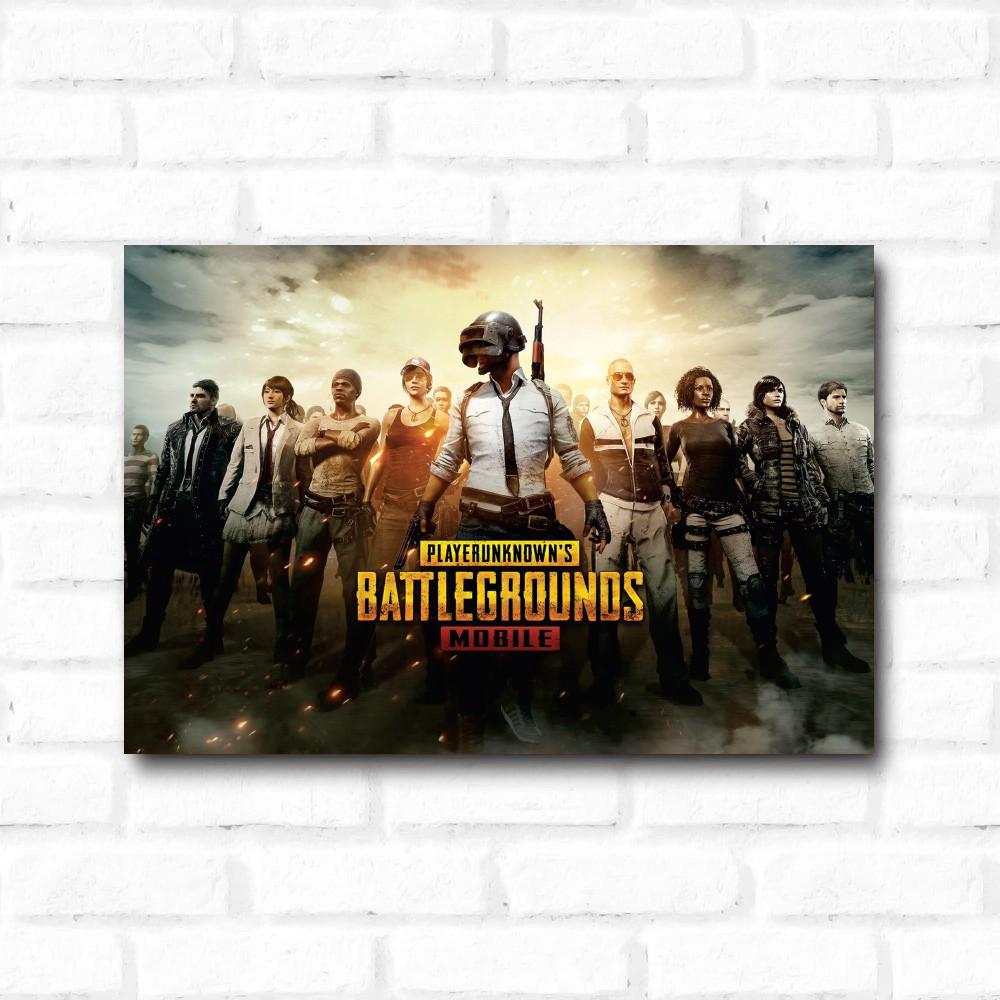 Placa Decorativa Battlegrounds PlayerUnknown