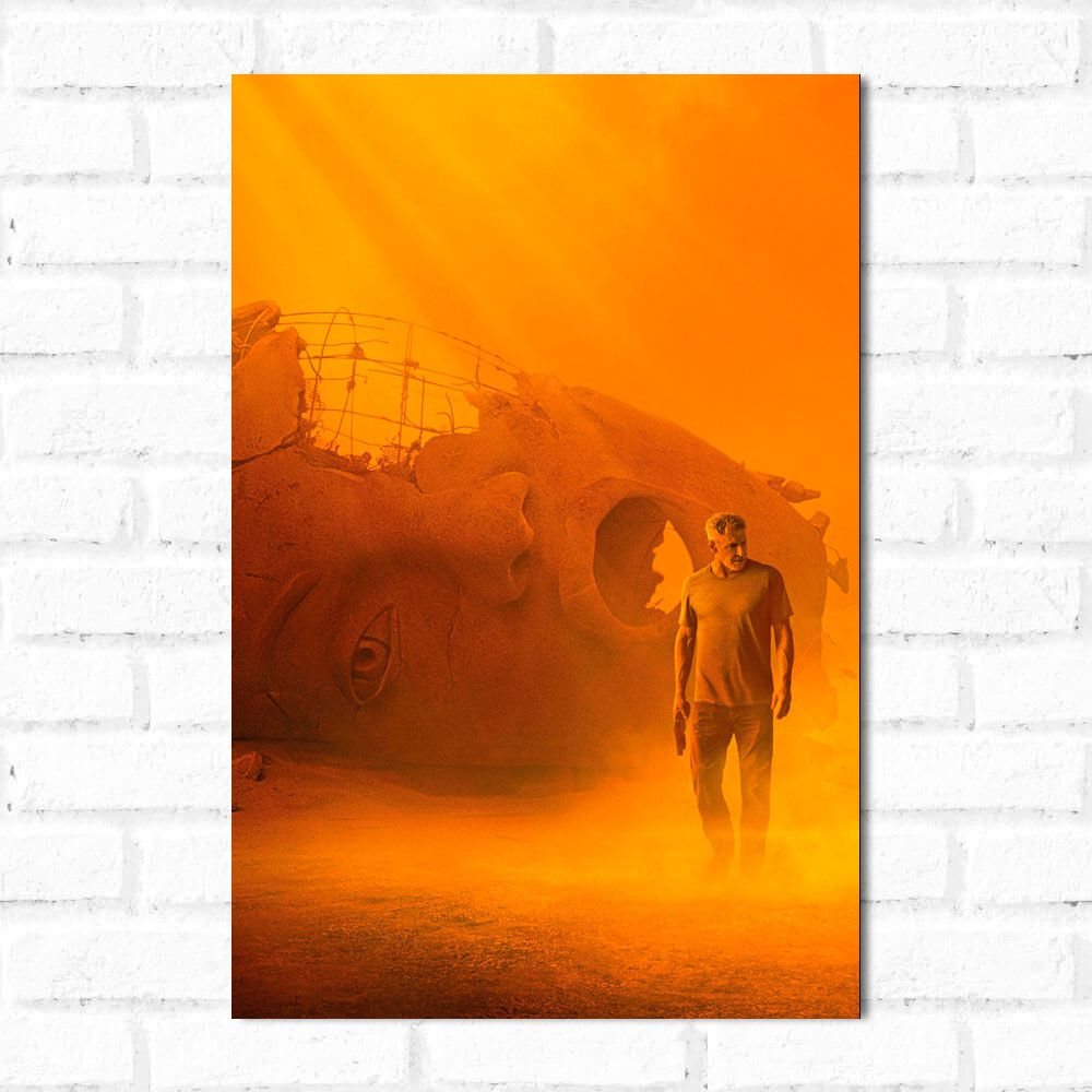 Placa Decorativa Blade Runner 2049 1