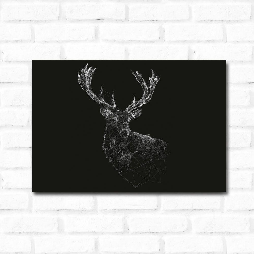 Placa Decorativa Cervo 1