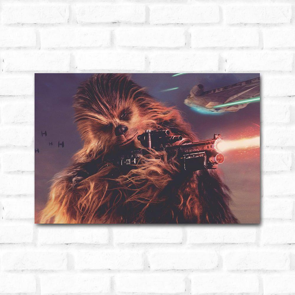 Placa Decorativa Chewbacca