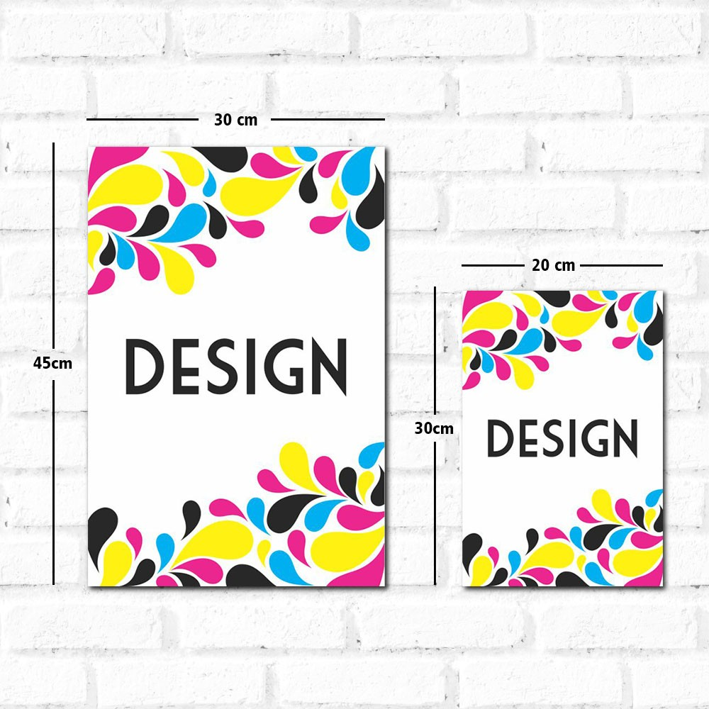 Placa Decorativa Design