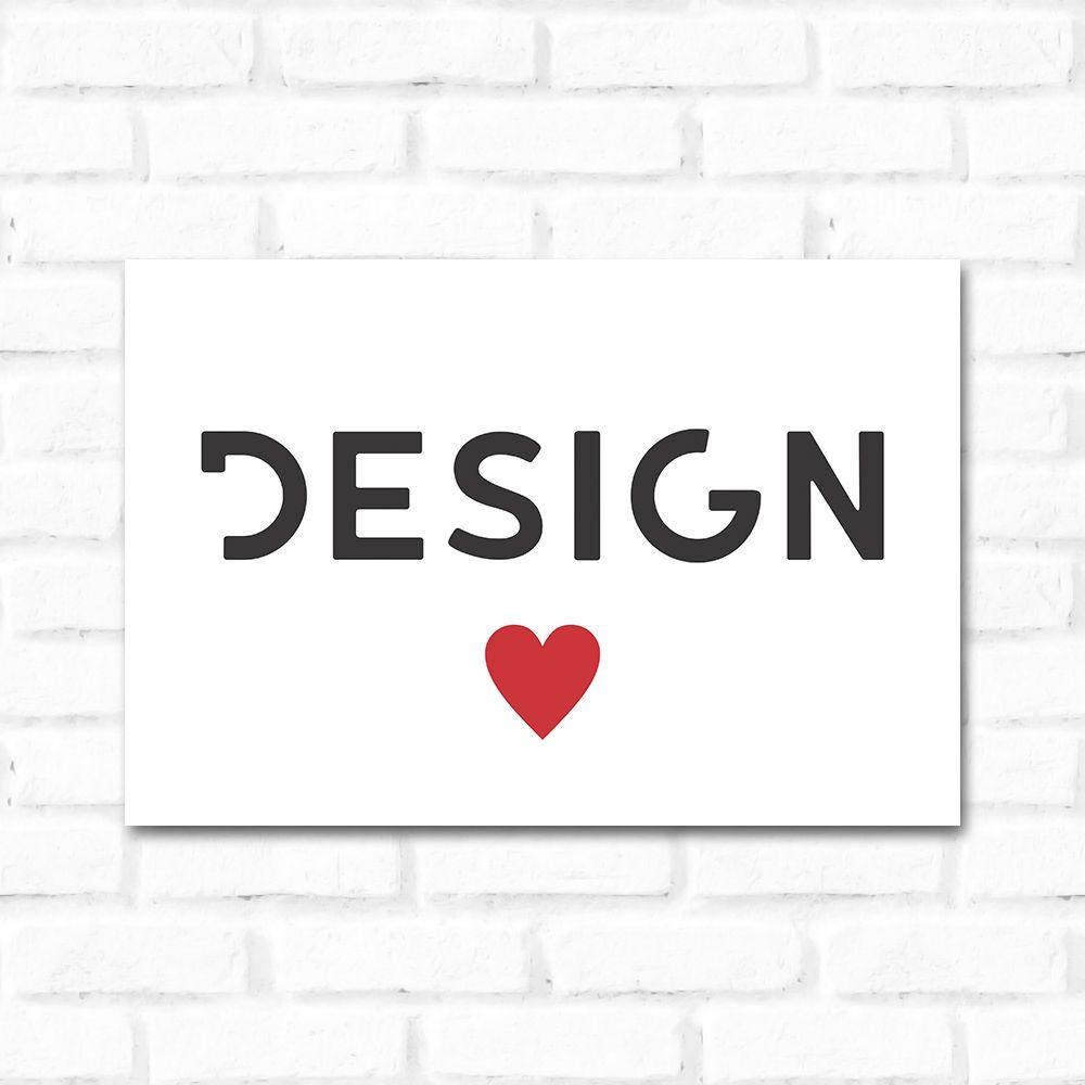 Placa Decorativa Design 2