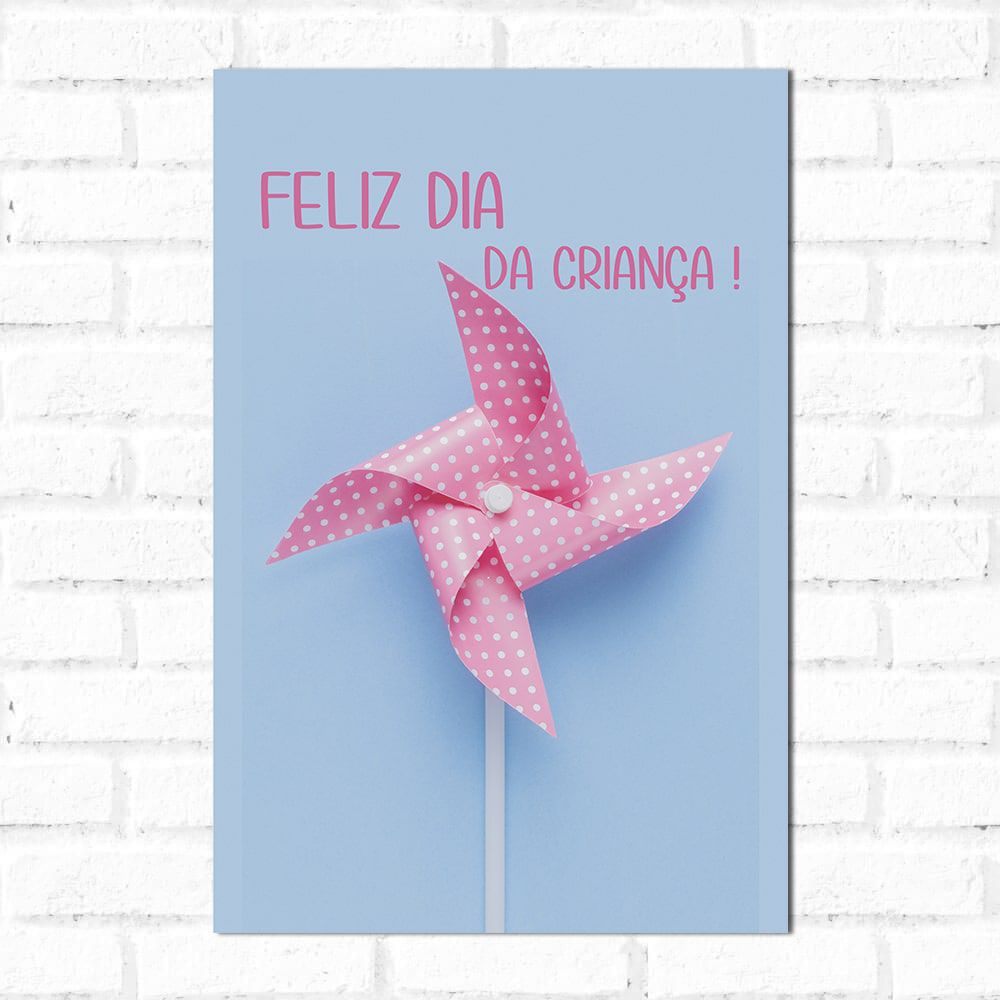 Placa Decorativa Dia da Criança