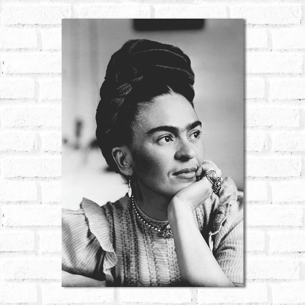 Placa Decorativa Frida kahlo 1