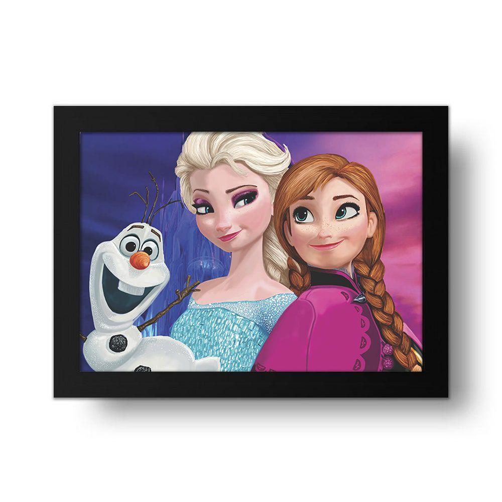Placa Decorativa Frozen 2