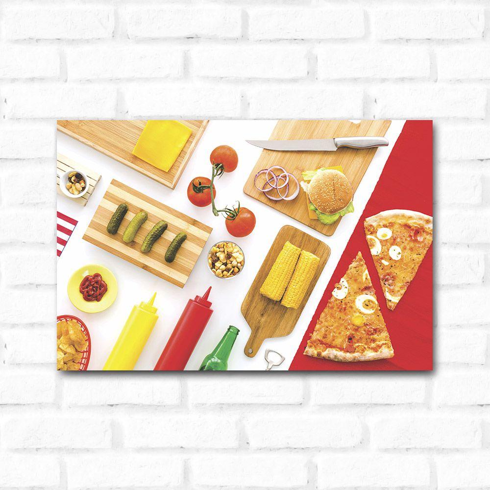 Placa Decorativa Ingredientes
