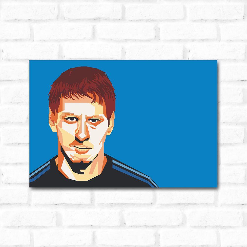 Placa Decorativa Leonel Messi