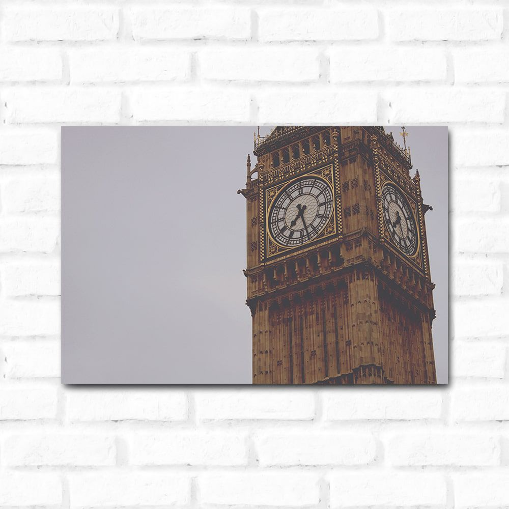 Placa Decorativa London 1