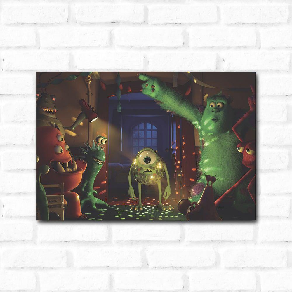 Placa Decorativa Monstros SA