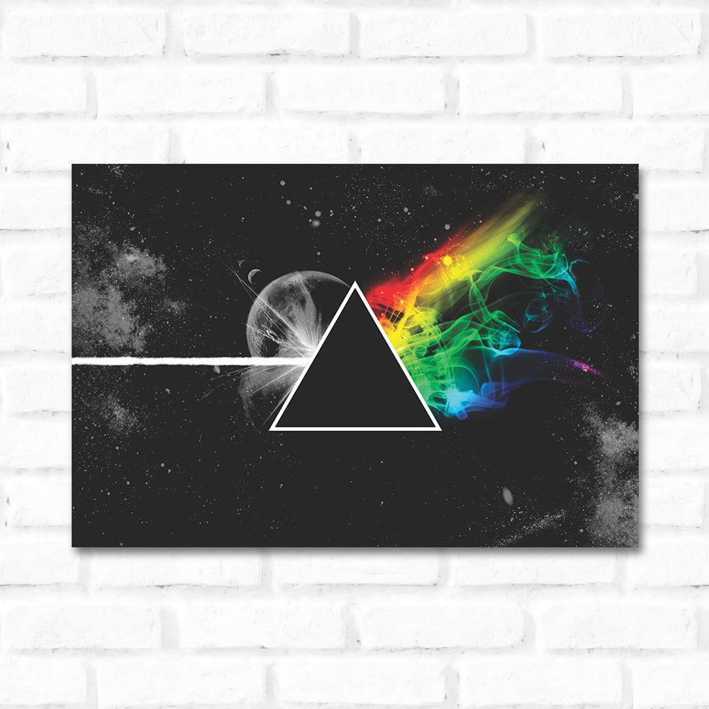 Placa Decorativa Pink Floyd