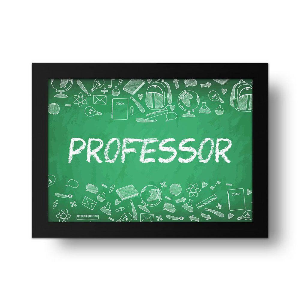 Placa Decorativa Professor