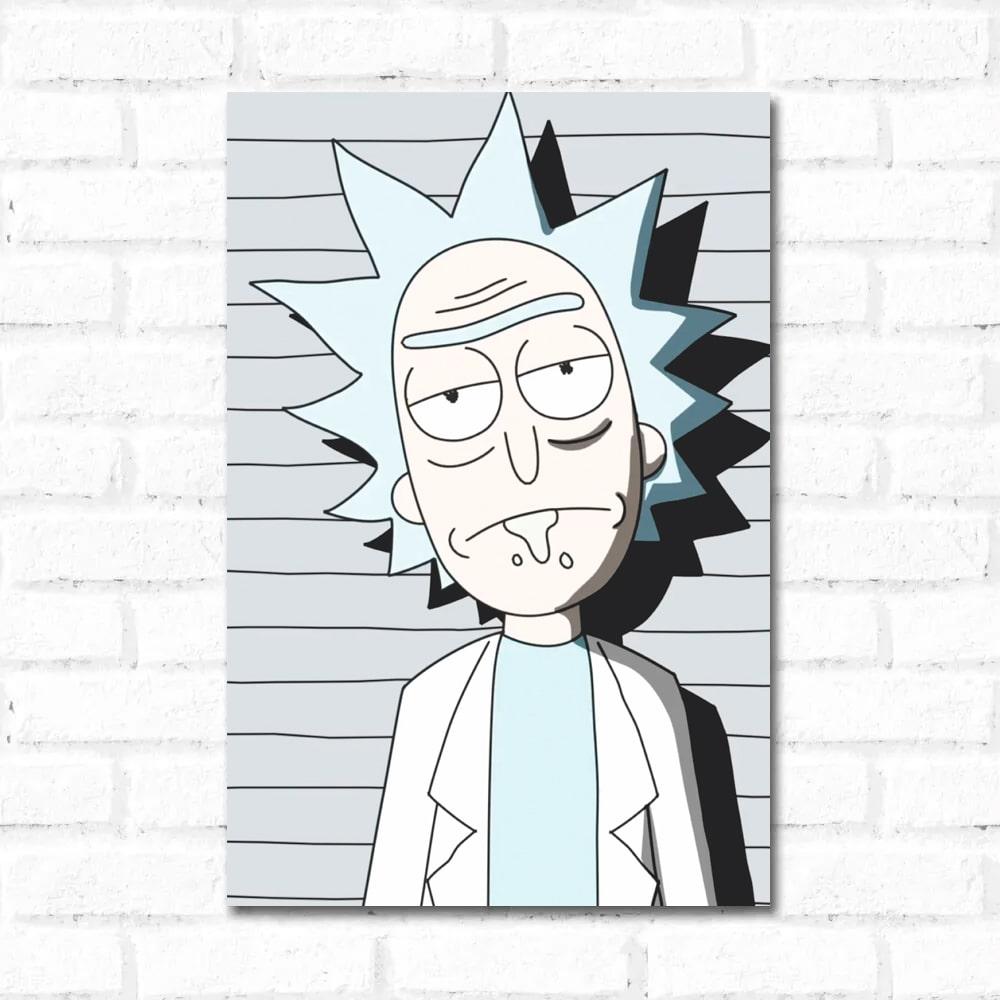 Placa Decorativa Rick