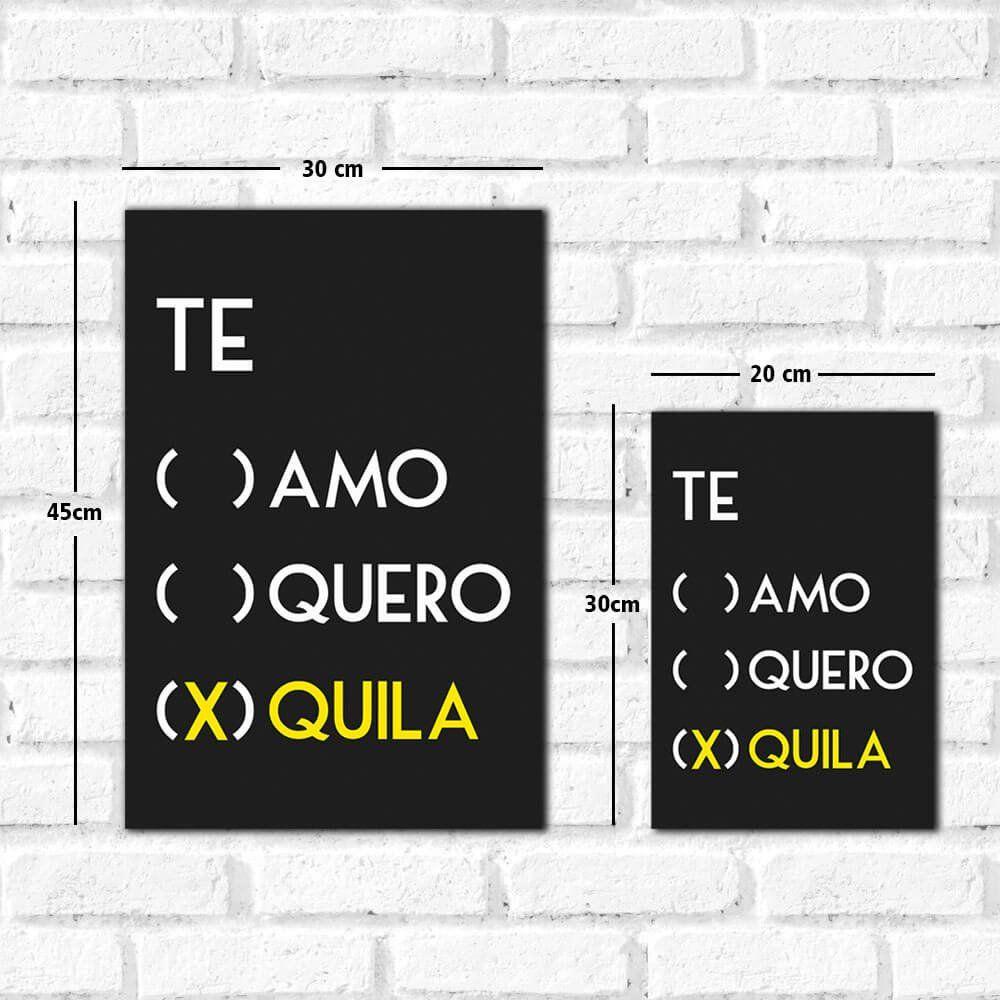 Placa Decorativa Tequila