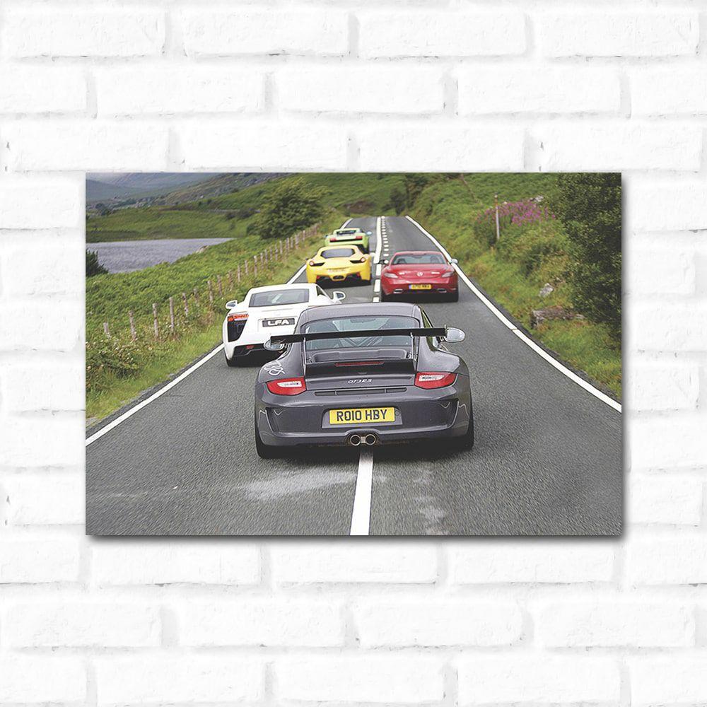 Placa Decorativa Top Gear 1