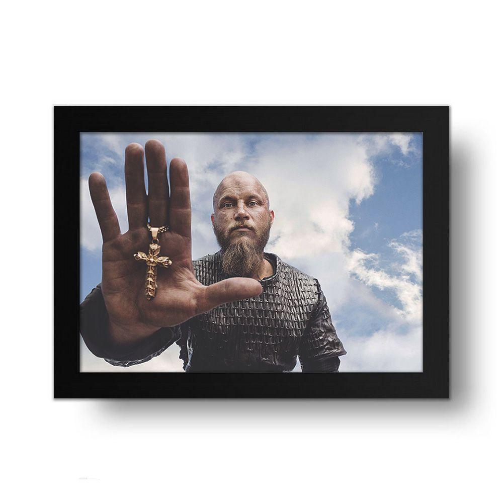 Placa Decorativa Vikings 1