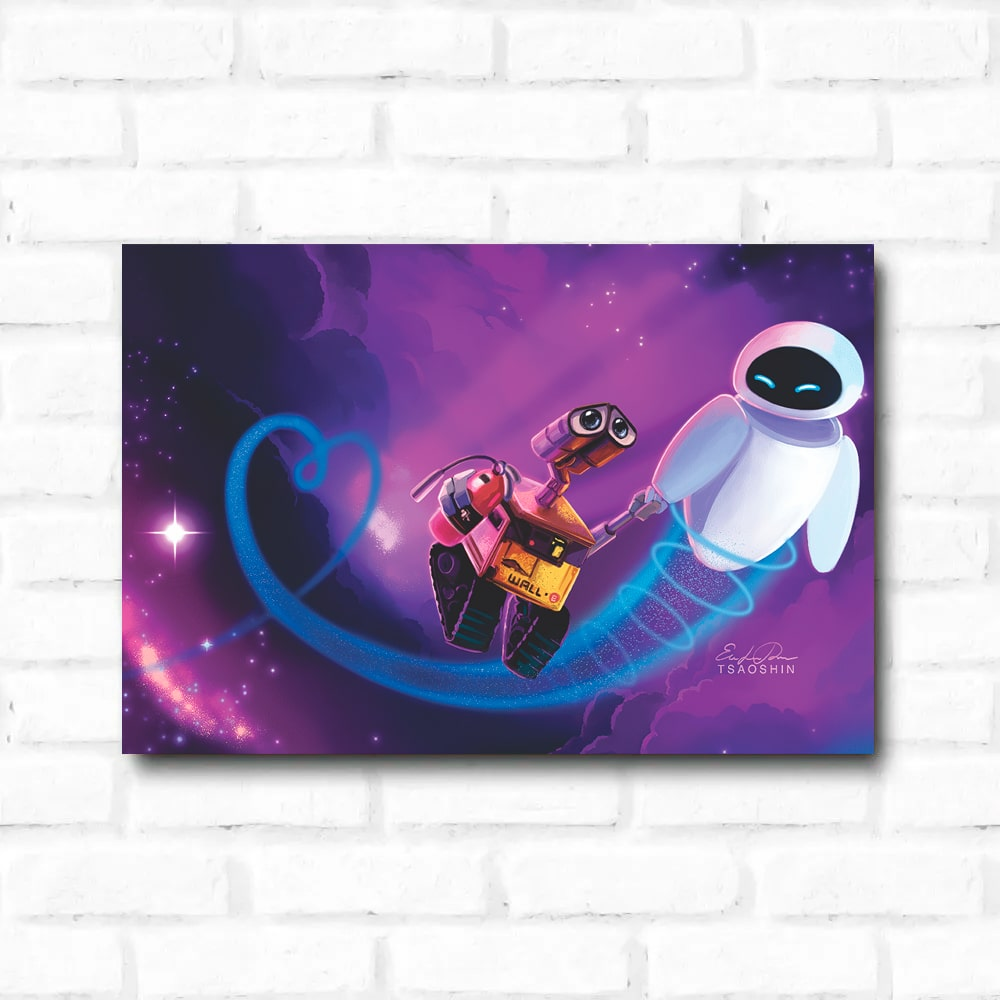 Placa Decorativa Wall-E 1