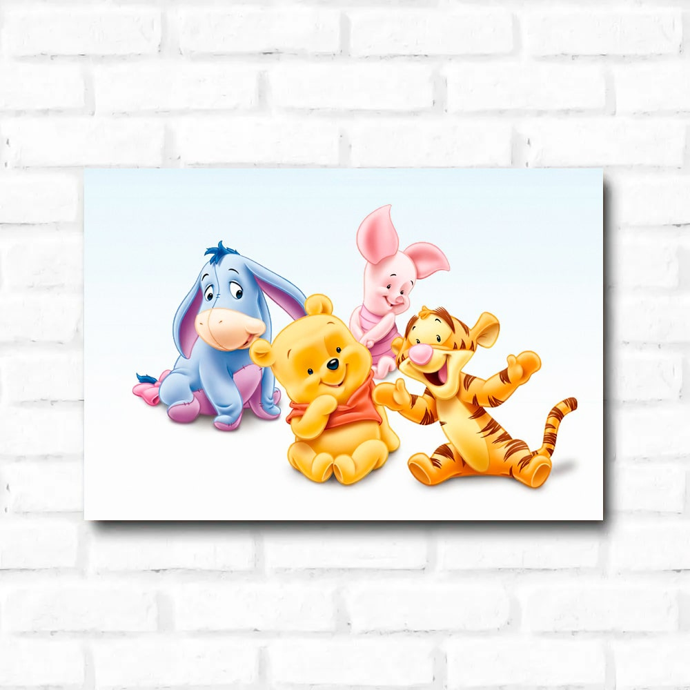Placa Decorativa Winnie The Pooh