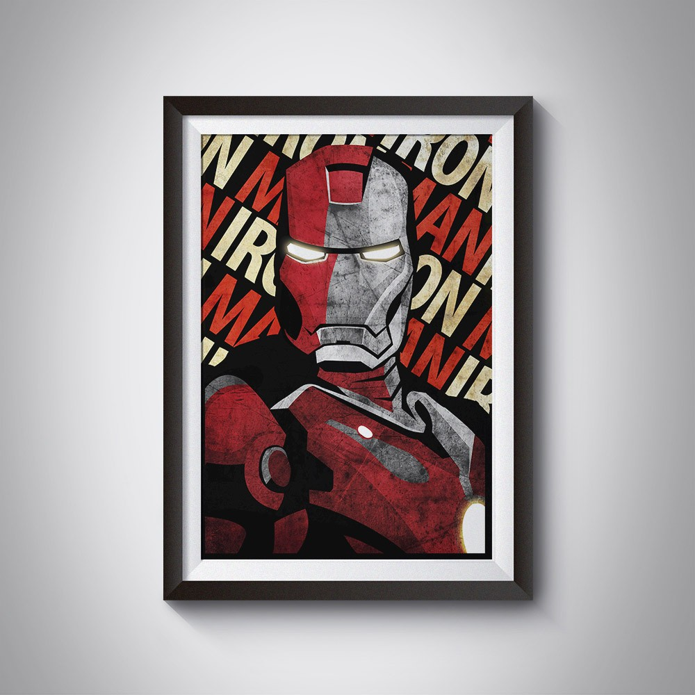 Poster Iron Man HQ