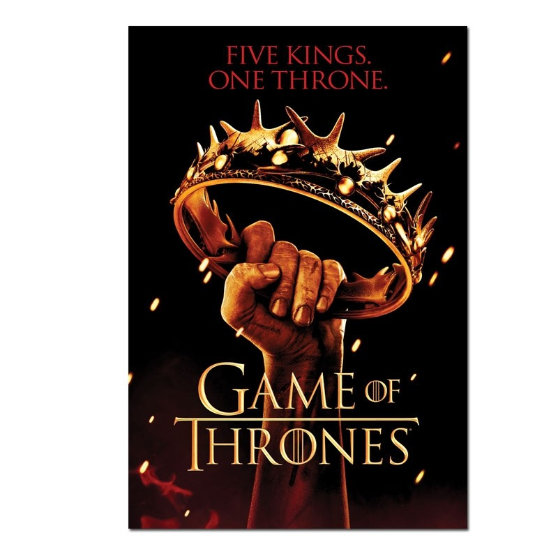 Poster One Throne GoT