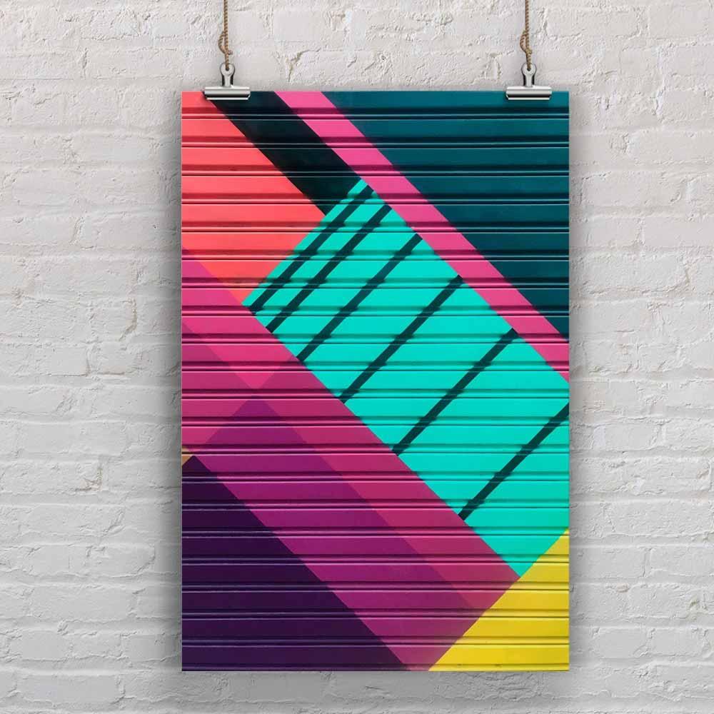 Poster Pintura Abstrata