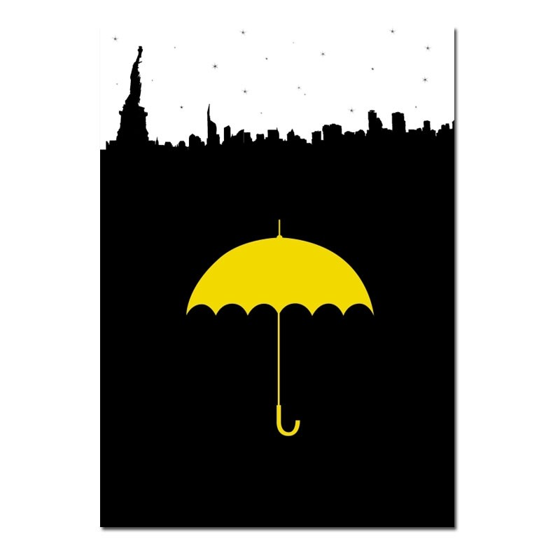 Yellow Umbrella How I Met Your Mother Poster Poster Yellow Umbrella...