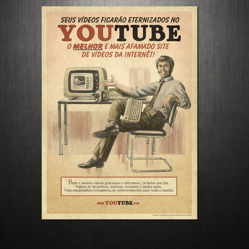Poster YouTube Vintage