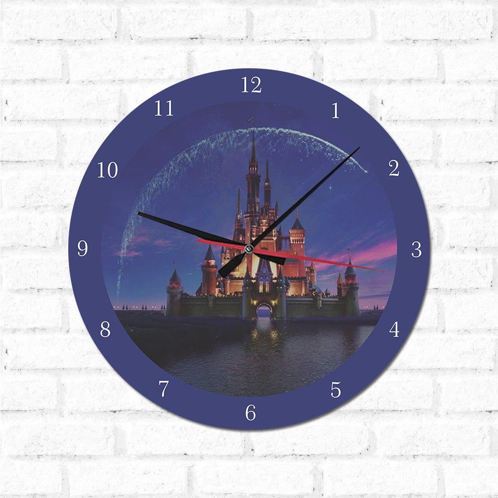 Relógio Castelo Disney
