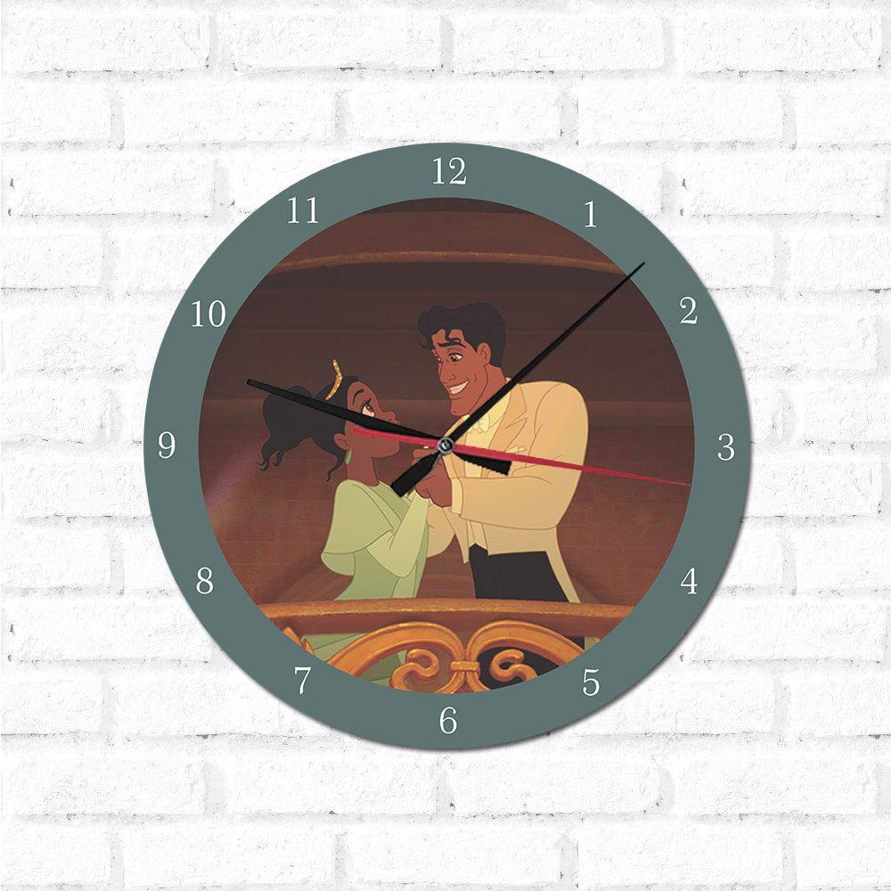 Relógio Decorativo A Princesa e o Sapo 2
