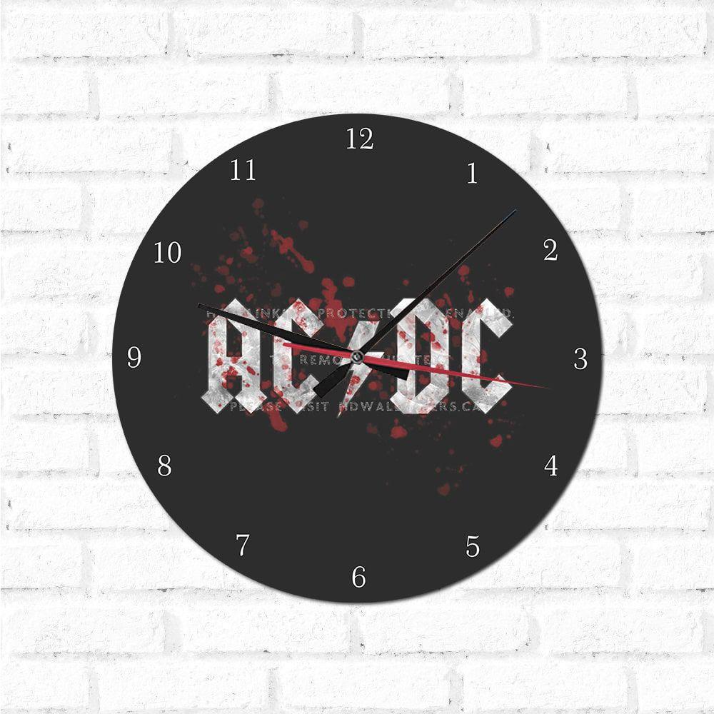 Relógio Decorativo  Acdc