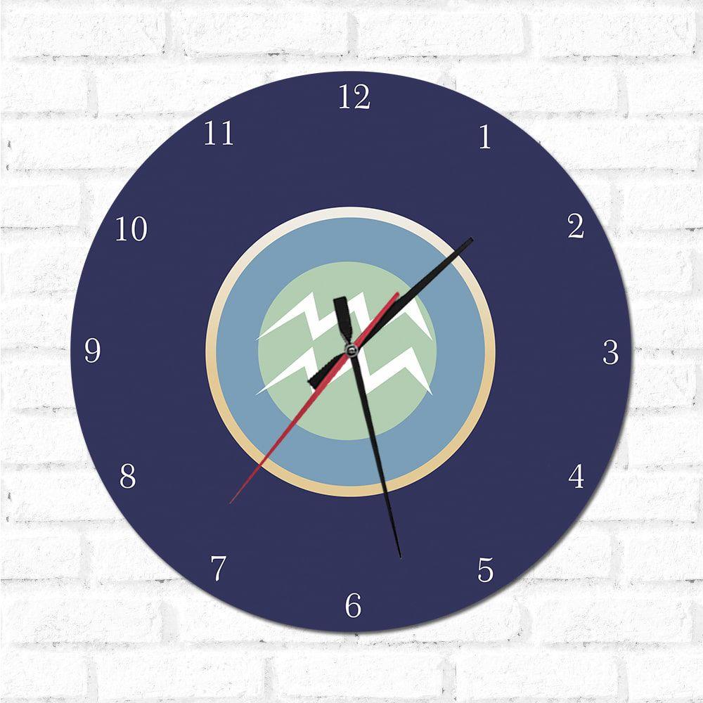Relógio Decorativo Aquário