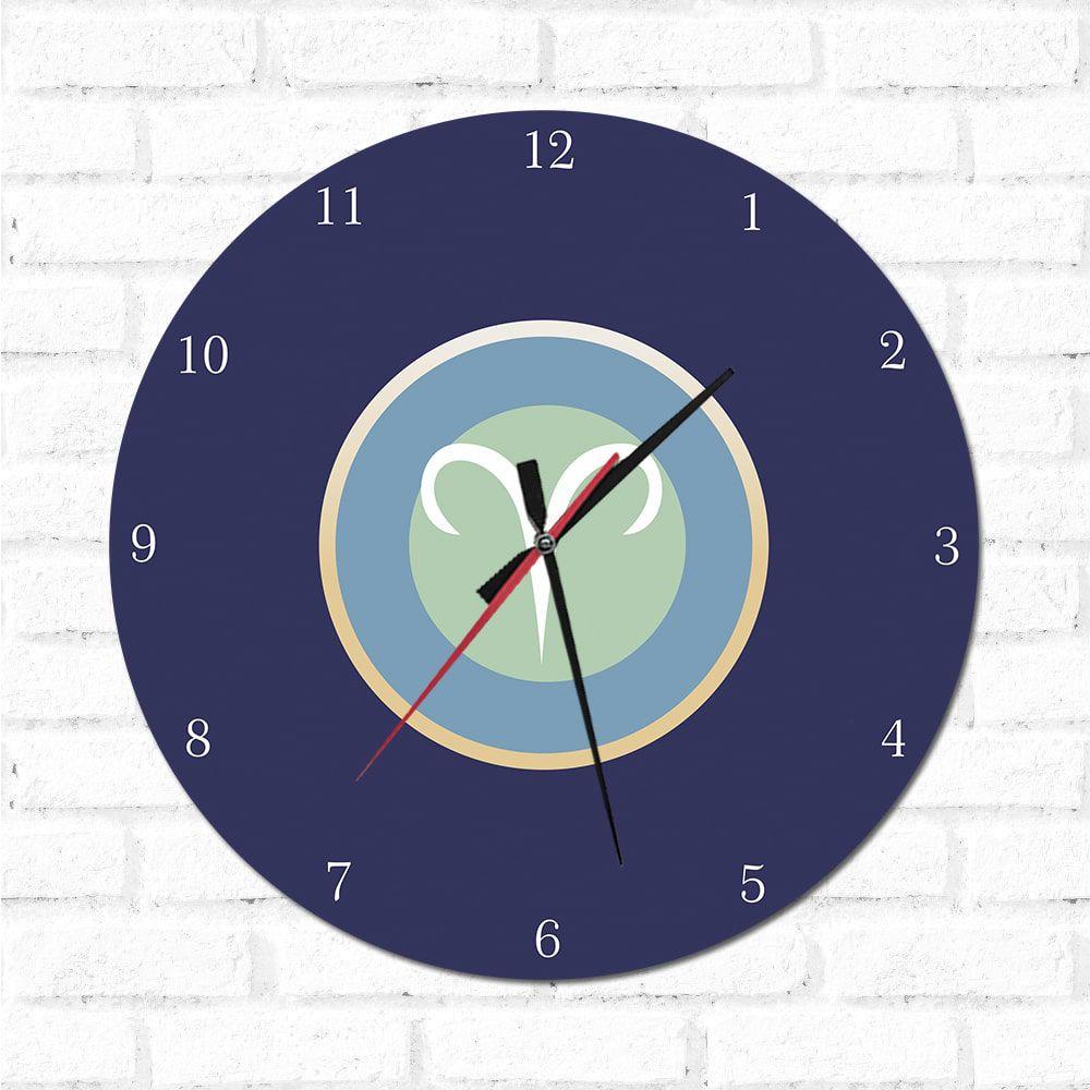 Relógio Decorativo Aries
