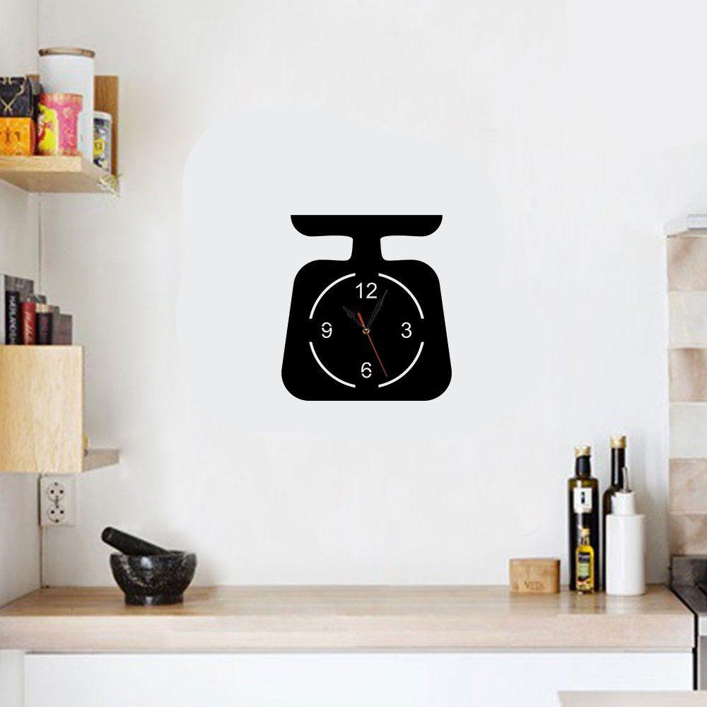 Relógio Decorativo Balança