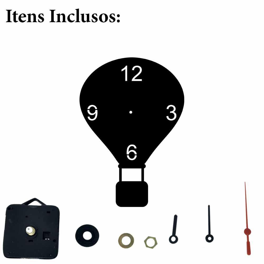 Relógio Decorativo Ballon