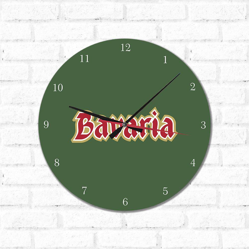 Relógio Decorativo Bavaria