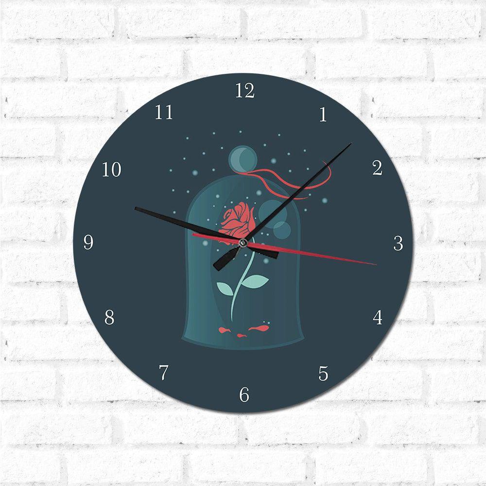 Relógio Decorativo Bela e a Fera 3
