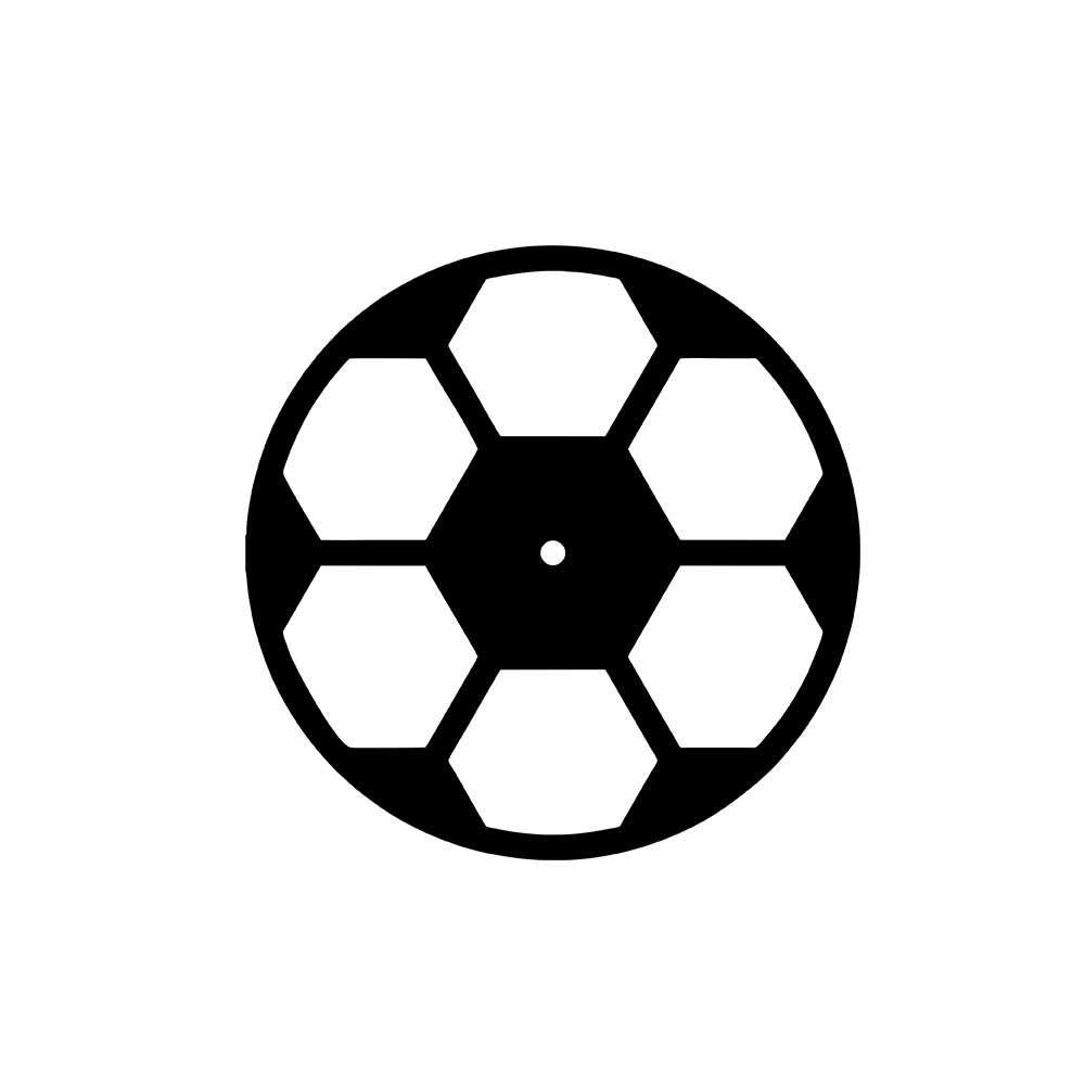 Relógio Decorativo Bola de Futebol